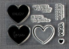This is the stamp set that was included with the January 2015 Kit - Filled with Love.
