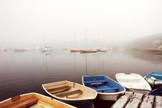 Cape Cod, Dinghys in the Fog