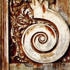 Wood door detail, Rome