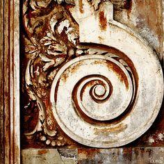 Wood door detail, Rome