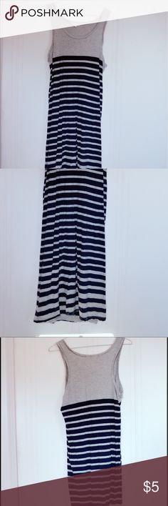 Dress Brand: Forever21 Size: small Pattern: stripe Style: cute, sexy  ❤OFFER ❤NO TRADE ❤BUNDLE Forever 21 Dresses Maxi
