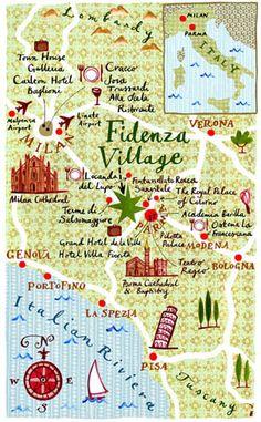 """Mariko Jesse """"Fidenza Village"""""""