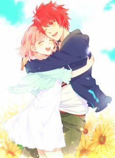 Haruka x Ittoki, es la pareja que mas me gusta si se hubiera quedado con alguien me hubiera gustado con el