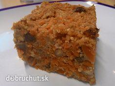 Fotorecept: Sladký mrkvový nákyp s orechami