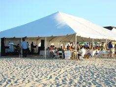 Beach Wedding Tent 4 & Miami Beach Wedding Tent. White Aqua and Green Wedding Ceremony ...