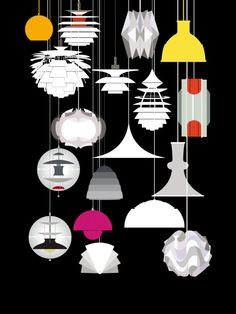 Luminaire scandinave - Visit the website to see all pictures http://www.crdecoration.com/blog-decoration/decoration/luminaire-scandinave