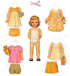 advertising paper doll 1