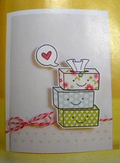 Heather Campbell published an absolutely adorable card in the recent Card Creations Vol. 12. Adorable!