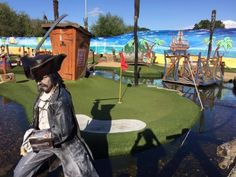 Pirate Bay Adventure Golf - Sport and Leisure, Pirates -  fun filled theme park setting