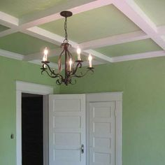Coffered Beadboard Ceiling: After | Best Bedroom Before and Afters 2008 | This Old House