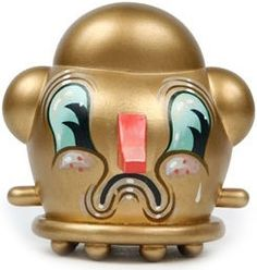 """Toy175 """"Gold Flopper"""" by Travis Lampe from The Monster Within, GR2 Series (2010) #Toy"""