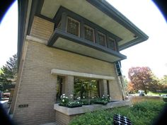 Meyer May House: Grand Rapids, Michigan. The home that Frank Lloyd Wright built for Meyer May and his wife, Sophie in 1908-9 was truly revolutionary for this area of Michigan. The Meyer May house was Wright's first commission in Michigan. After May's death, the house went through hard times before being completely restored by the Steelcase company.
