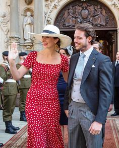 Princess Claire and Prince Felix of Luxembourg on June 23, 2015 in Luxembourg, Luxembourg.