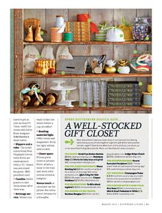 As seen in Southern Living...the Indigo Stripe clutch (7) by WildPeace Organics.