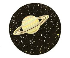 Items similar to Original watercolor painting Saturn planet Galaxy Space art home decor Stars universe moon solar system on Etsy Galaxy Painting, Acrylic Painting Canvas, Painting Inspiration, Art Inspo, Constellations, Saturn Tattoo, Pics Art, Ciel, Stone Painting