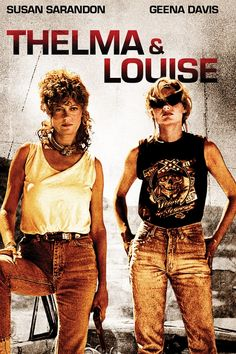 Movie Poster - Thelma and Louise