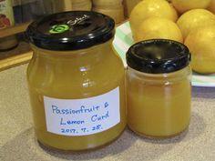 Passionfruit & Lemon Curd