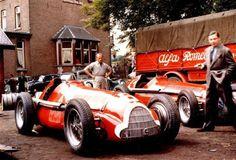 1951 Аlfa's at Le Mans