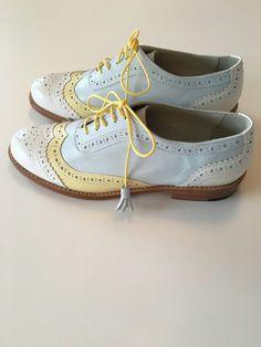 Dames de style Oxford chaussures chaussures par LulaLondonStudio