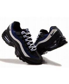 Nike Air Max 95 Black Royal White Trainers