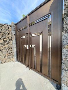 제주도 - 연수원 대문 : 네이버 블로그 Door Gate Design, Fence, Windows, Doors, Furniture, Home Decor, Puertas, Window, Interior Design