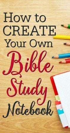 Proverbs 31 Woman Discover How to Create Your Own Bible Study Notebook - Arabah Creating your own Bible study notebook is a great way to help keep your quiet time organized and effective. Learn how to create your own Bible study notebook. Bible Study Plans, Bible Study Notebook, Bible Study Tips, Bible Study Journal, Scripture Study, Bible Lessons, Notebook Ideas, Scripture Journal, Prayer Journals