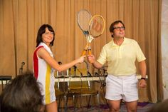 Girl power: The Billie Jean King Commemorative Watch was released just in time for Battle of the Sexes, a new film starring Emma Stone and Steve Carell that memorialized Billie Jean's epic match against Bobby Riggs in 1973 Billie Jean King, Steve Carell, Bobby, Tennis Clubs, Tennis Players, Emma Stone, Easy Couples Costumes, How To Play Tennis, Elisabeth Shue