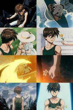 How many more times must I kill that girl and her dog - Heero Yuy Still one of the most heartbreaking scenes. Heero Yuy, Stray Kids Chan, Gundam Seed, Gundam Wing, Mobile Suit, Guilty Pleasure, 4 Life, Wings, Fandom