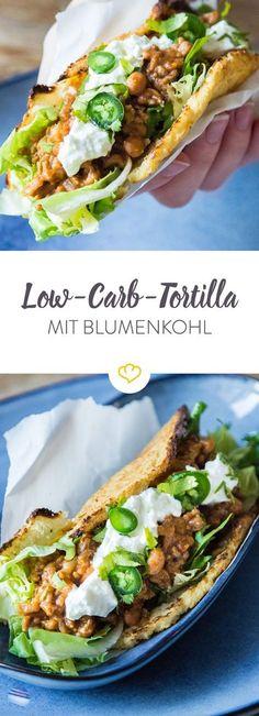 Du magst Low Carb? Dann wirst du Low Carb Tortillas lieben! Die leckeren Fladen kommen völlig ohne Mehl aus und warten goldgelb nur noch auf ihre Füllung.