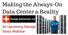 Join us for this live webinar on Tuesday, June 2nd at 1pm ET and 10am PT. Listen in as experts from Storage Switzerland, Veeam and ExaGrid architect a data availability and protection infrastructure that can meet and even exceed the Always-On expectations of an Always-On organization.  #Backup #DataProtection