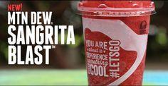 Taco Bell Mtn Dew Sangrita Blast Freeze | The Impulsive Buy
