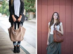 24 Merry Days Giveaway: Win Two Ellington Bags! - Making it Lovely Hobo Purses, Hobo Handbags, Purses And Handbags, Ellington Handbags, Oxford Brogues, Leather Pouch, Get The Look, Hobo Bag, Giveaway