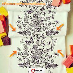 En http://copiplan.com.uy/ hacemos #RemerasPersonalizadas