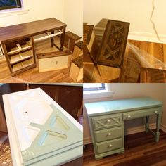 Project 1: My Desk... Before & after