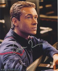 Star trek:connor trinneer autograph photo #3 from creation ent