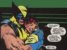 Alright, let's take a look at each character for real. Wolverine might be tough and always ready to rip someone's throat out but he's a big softy with the younger members of the team. Marvel Vs, Marvel Comics, Xmen, Wolverine, Shit Happens, Books, Play, Earth, Character