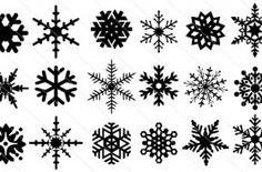 Snowflake Silhouette (20)