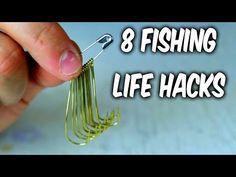 8 Fishing Life Hacks - YouTube