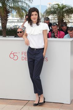 Celebrity Fashion at Cannes Film Festival 2012 Audrey Tautou
