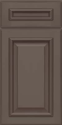 KraftMaid Cabinets -Square Raised Panel - Solid (GRM) Maple in Greyloft w/Sable Glaze from waybuild