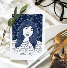 Kate Bush Christmas Card Greetings card Music Kate Bush | Etsy Snowflakes, Christmas Greeting Cards, Your Message, Your Cards, Colours, Messages, Paper, Music, Muziek