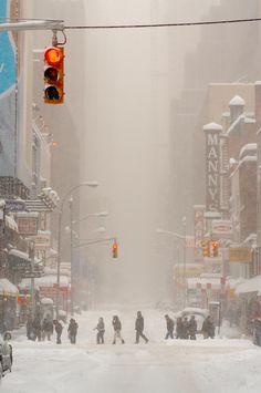 Blizzard, NYC