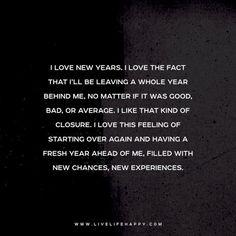 i love new years