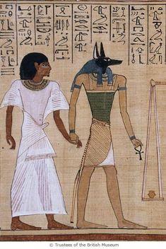 Papyrus of Hunefer, 19 Dyn.