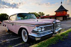 The #Edsel arrives on September 4, 1957. #classic #vintage