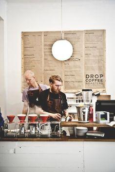 Drop Coffee Roasters- the best of Stockholm!