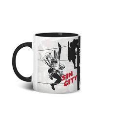 Caneca Sin City, belíssima obra de um dos grandes ícones dos quadrinhos - Frank Miller!