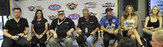 """Tom McEwen and Don Prudhomme sit down with some of the actors in the """"Snake and Mongoose"""" Movie"""