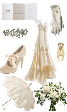 Downton abbey wedding inspiration - this dress is sooooo much better.