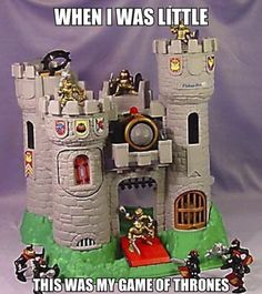 LOL, My kids loved their castle